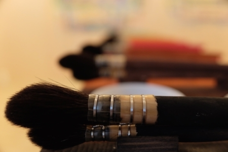 Malen nach Arno Stern: Pinsel